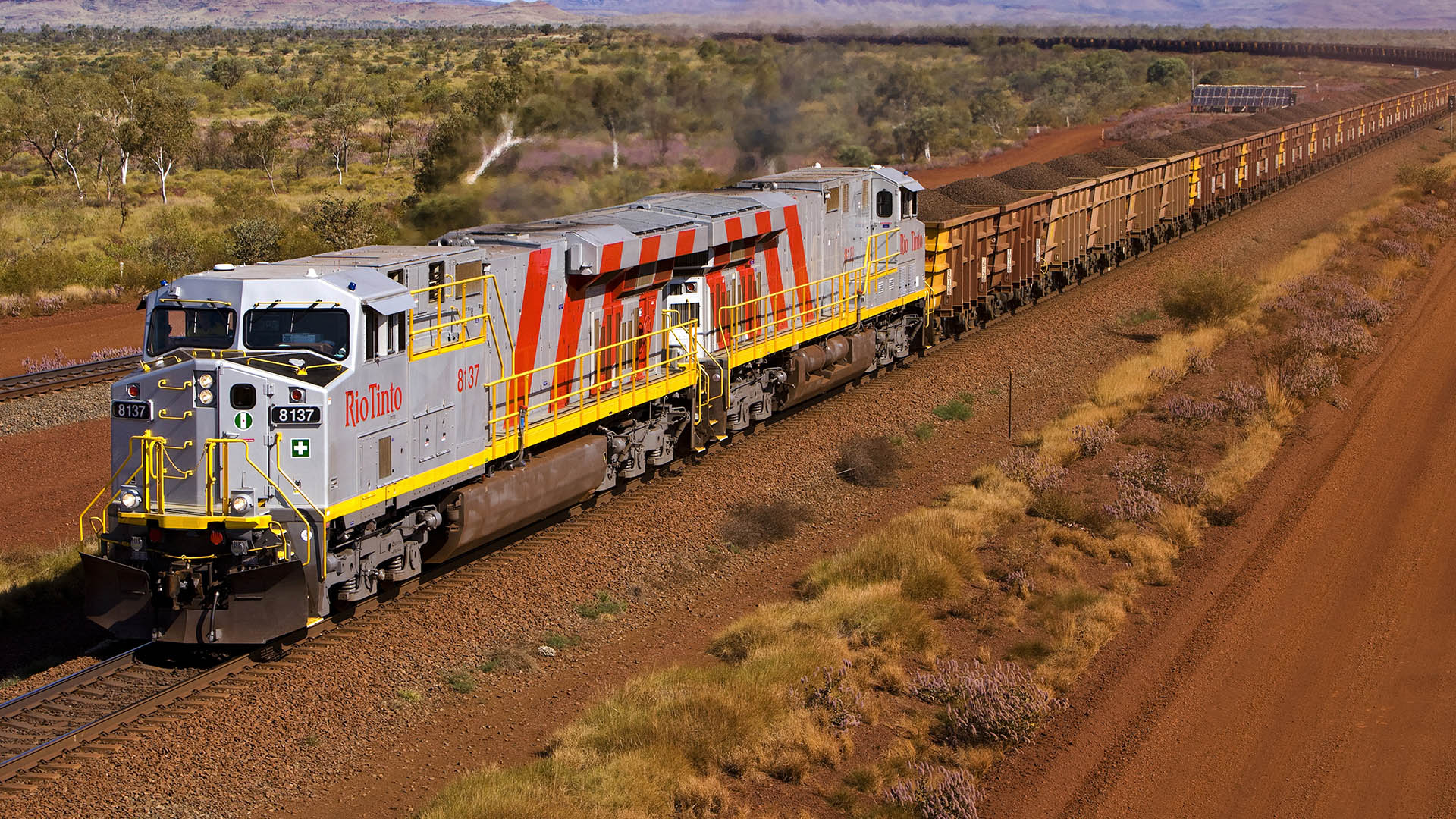 RioTinto AutoHaul train