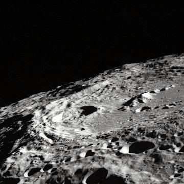NASA image of the moon