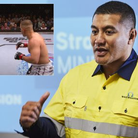 Mental health ambassador Soa 'The Hulk' Palelei