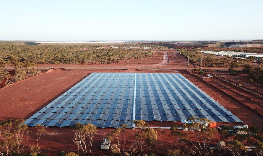 Nomadic Energy's solar installation at Carosue Dam