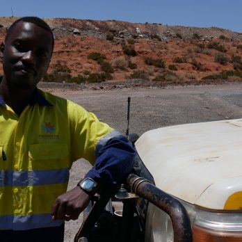 Justin Zimama working for Northern Star